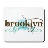 BROOKLYN Grunge Mousepad