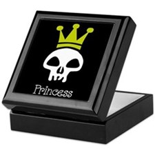 Skull Princess Keepsake Box