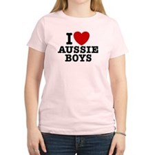 I Love Aussie Boys T-Shirt