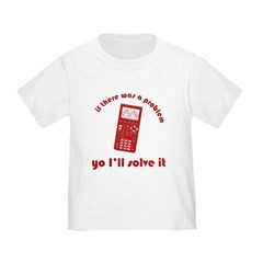 Yo I'll Solve It Toddler T-Shirt