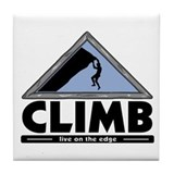 Rock Climbing Tile Coaster