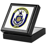 USS Wisconsin (BB 64) Keepsake Box