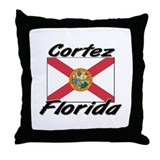 Cortez Florida Throw Pillow