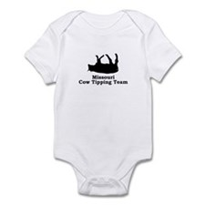 Missouri Cow Tipping Infant Bodysuit