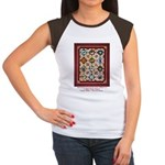 Love that Pound Puppy Quilt Women's Cap Sleeve T-S