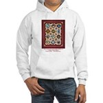 Love that Pound Puppy Quilt Hooded Sweatshirt