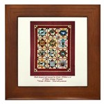 Love that Pound Puppy Quilt Framed Tile