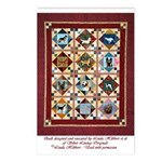 Love that Pound Puppy Quilt Postcards (Package of