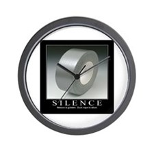 Motivational - Silence Wall Clock