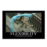 Motivational - Flexibility Postcards (Package of 8