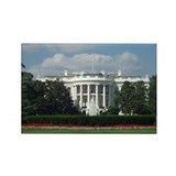 White House Rectangle Magnet