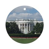 White House Ornament (Round)