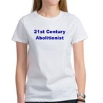 21st Century Abolitionist Women's T-Shirt