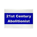 21st Century Abolitionist Rectangle Magnet