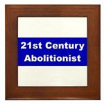 21st Century Abolitionist Framed Tile