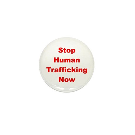 Stop Human Trafficking Now Mini Button (100 pack)