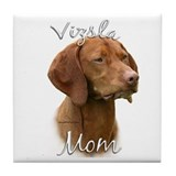 Vizsla Mom2 Tile Coaster