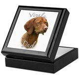Vizsla Dad2 Keepsake Box