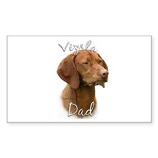 Vizsla Dad2 Rectangle Decal
