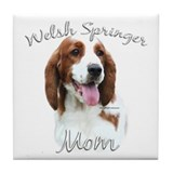 Welsh Springer Mom2 Tile Coaster