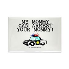 Mommy Cop Rectangle Magnet