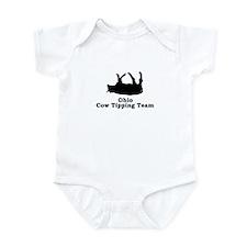 Ohio Cow Tipping Infant Bodysuit