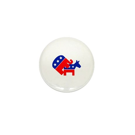 Fuck Democrats Mini Button