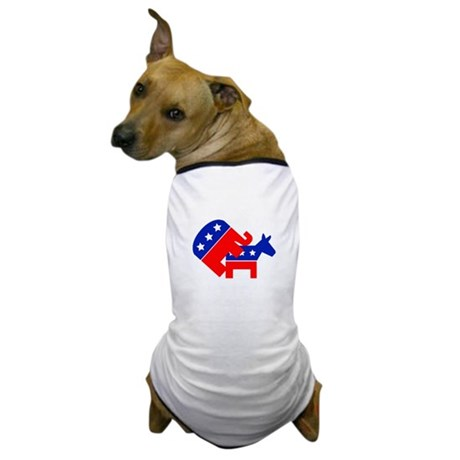 Fuck Democrats Dog T-Shirt