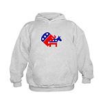 Fuck Democrats Kids Hoodie