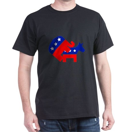 Fuck Democrats Dark T-Shirt
