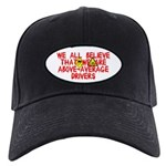 Above-Average Drivers Black Cap
