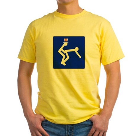 Getting Fucked By Uncle Sam Yellow T-Shirt