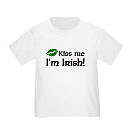 Kiss Me I'm Irish Toddler T-Shirt