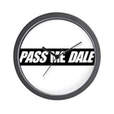 PASS ME DALE Wall Clock