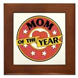 Mom of the Year - Framed Tile