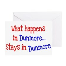 What Happens In Dunmore Greeting Cards (Pk of 20)