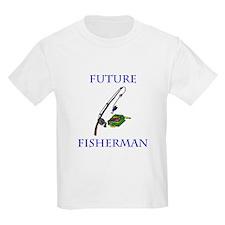 Cute Baby fishing T-Shirt