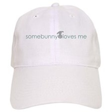 somebunny loves me Baseball Cap