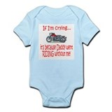 Biker Baby Cry - DAD Infant Bodysuit