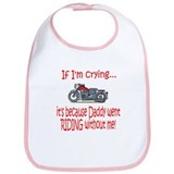 Biker Baby Cry - DAD Bib