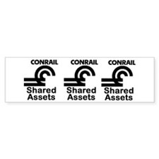 Conrail Shared Assets Bumper Bumper Sticker