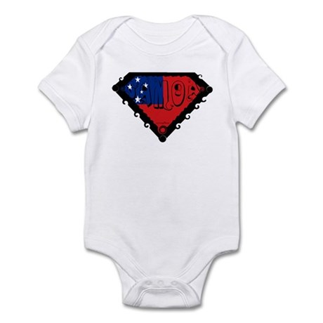 Samoa Flag Infant Bodysuit