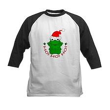 Cartoon Frog Santa Tee