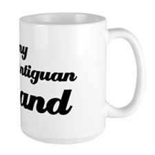 I love my Antiguan Husband Mug