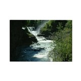 Letchworth Lower Falls Rectangle Magnet