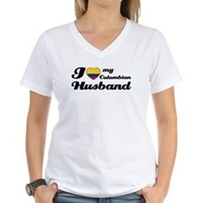 I love my Colombian Husband Shirt