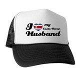 I love my Costa Rican Husband Trucker Hat