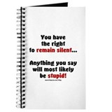 Remain Silent Journal