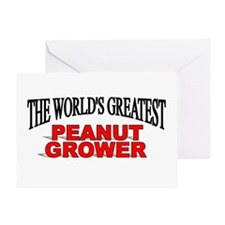"""The World's Greatest Peanut Grower"" Greeting Card"