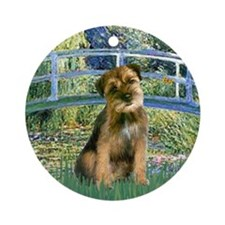 Bridge / Border Terrier Ornament (Round)